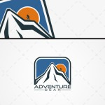 Mountain Adventure Logo For Sale