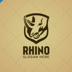 One Off Rhino Logo For Sale