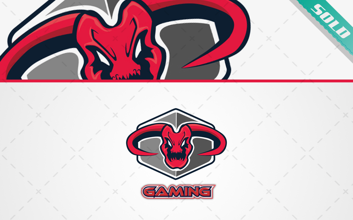 Gaming Monster Mascot Esports Team Logo For Sale