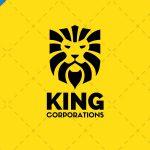 Modern Lion Head Logo For Sale