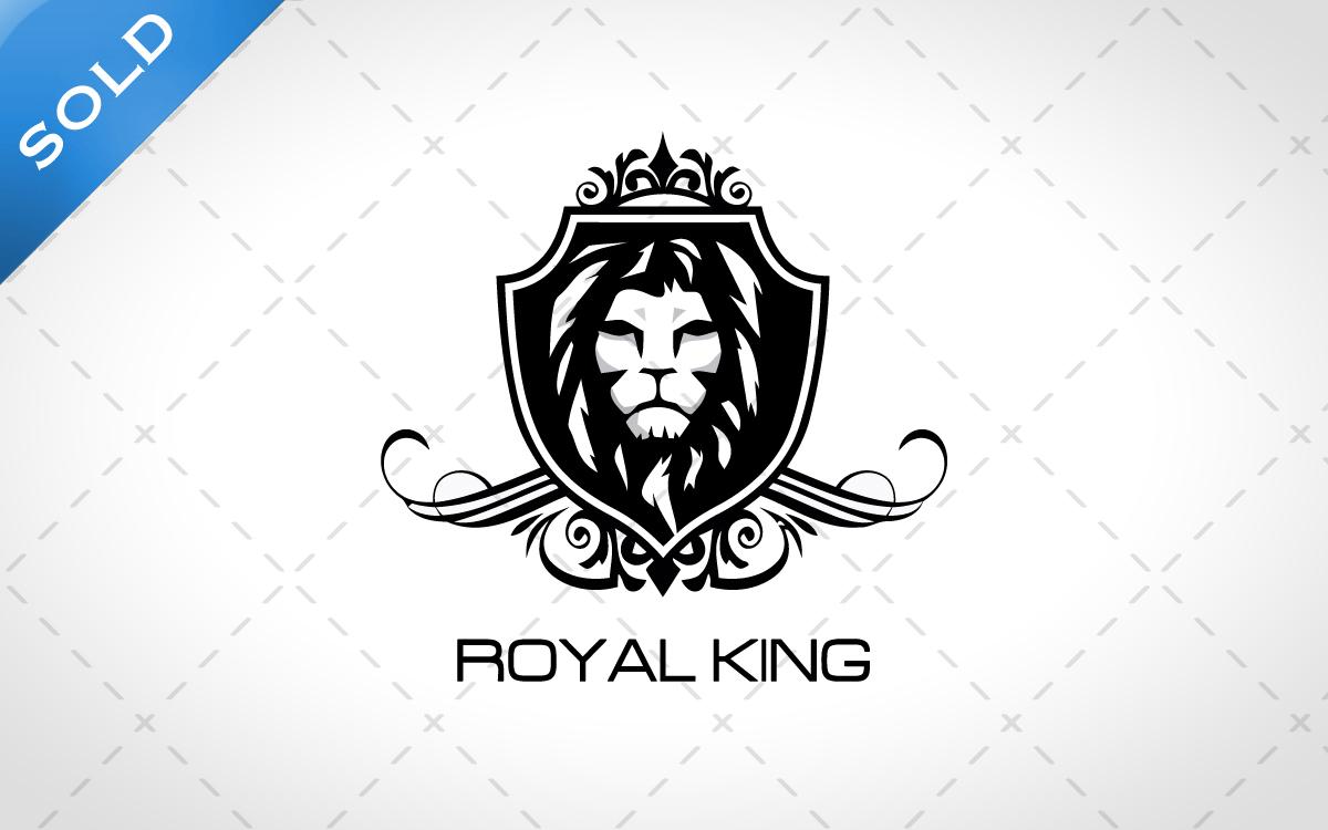 royal lion head logo for sale lobotz