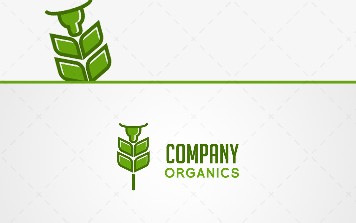organic logo for sale