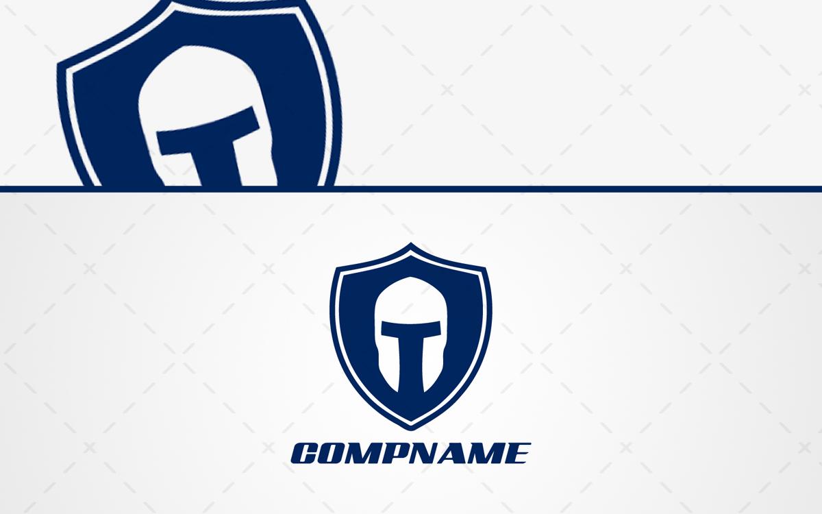 Spartan Helmet Logo For Sale