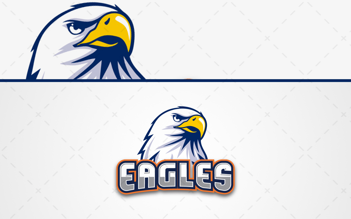 Eagles Mascot Logo For Sale