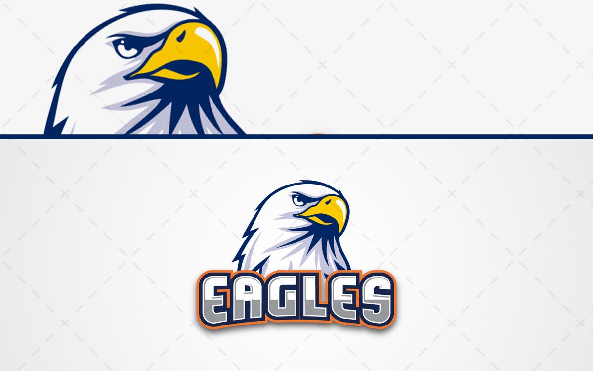 Eagles Mascot Logo For Sale