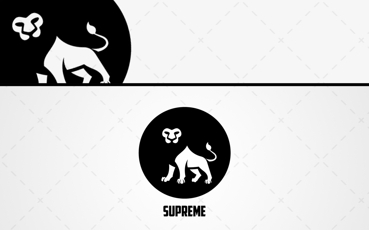 lion logo for sale premade lion logo