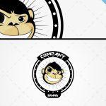 Trendy Monkey Logo For Sale