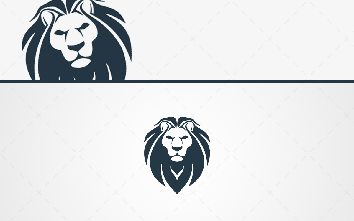 premium lion head logo for sale lobotz