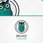 Modern Exclusive Owl Logo For Sale