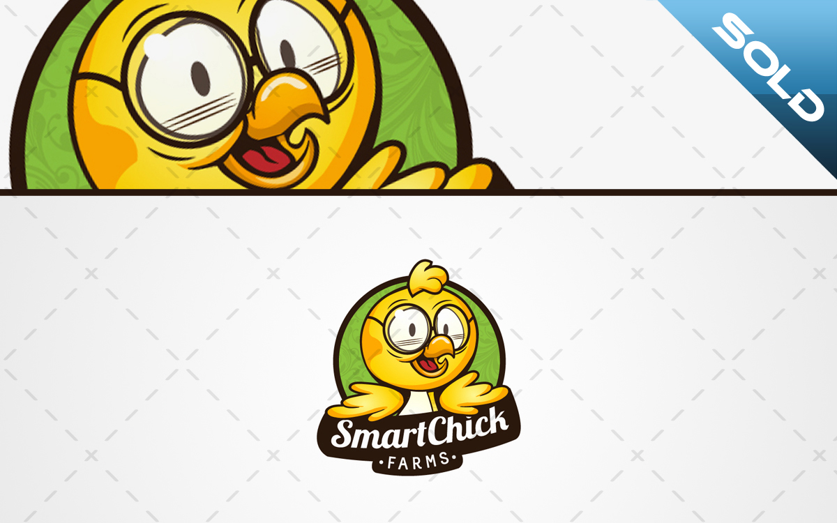 smart chick logo for sale