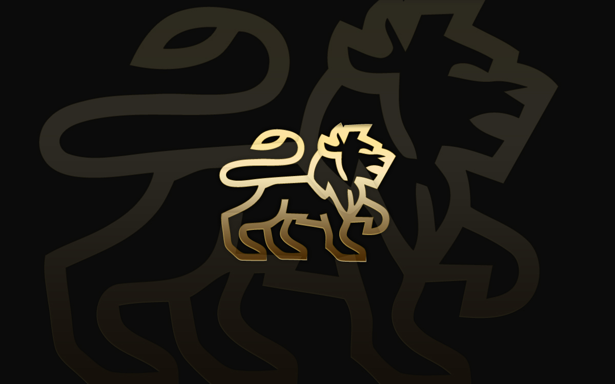 Prestigious Lion Logo For Sale Lobotz