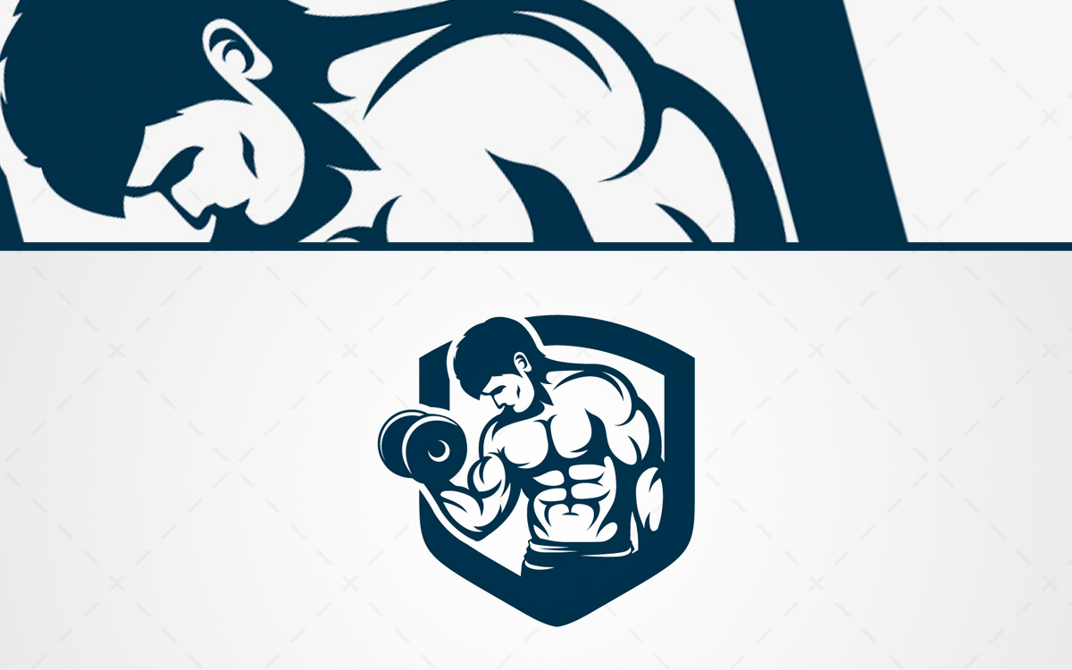 strong bodybuilding logo for sale lobotz rh lobotz com bodybuilding log software bodybuilding logo maker