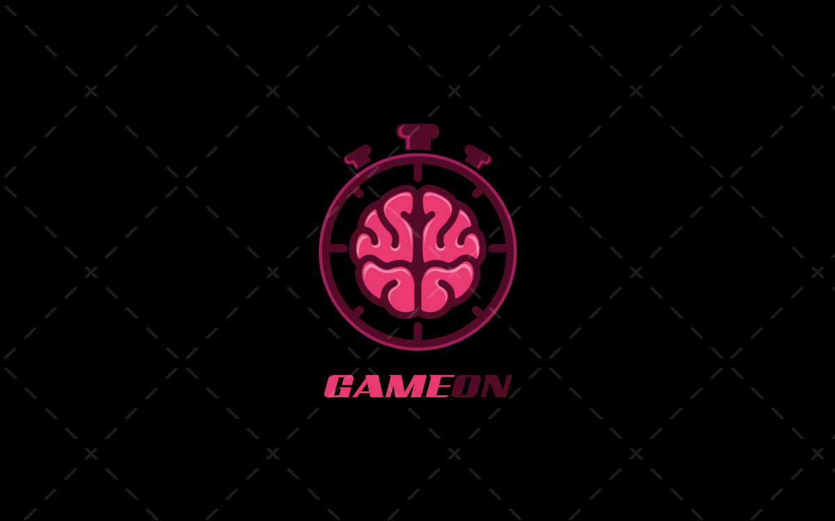 Spectacular Brains Gaming Logo For Sale Esports Gaming