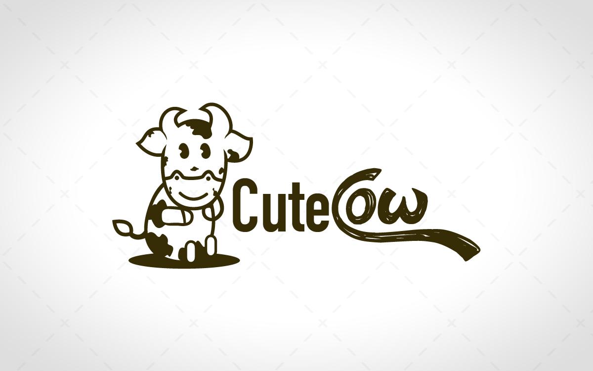 cute cow logo for sale lobotz