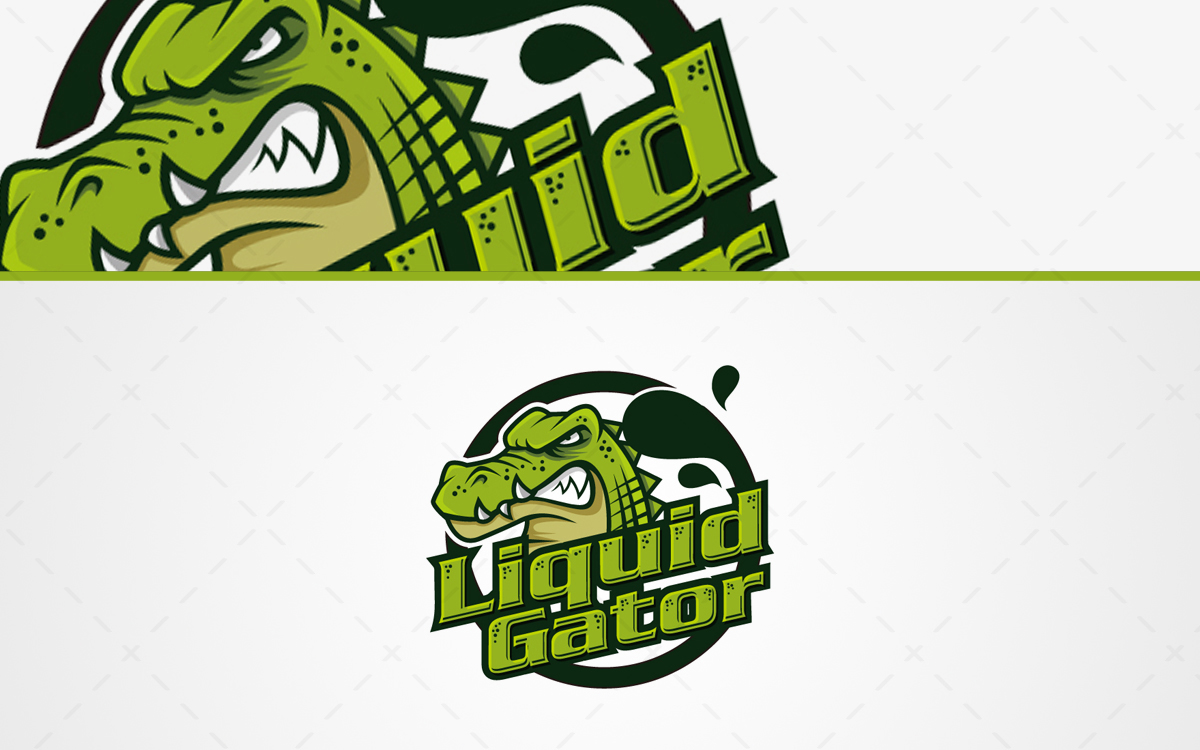 Gator Mascot Logo For Sale