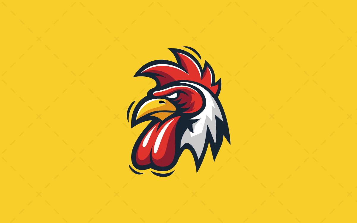 Logo Esport Head Dragon