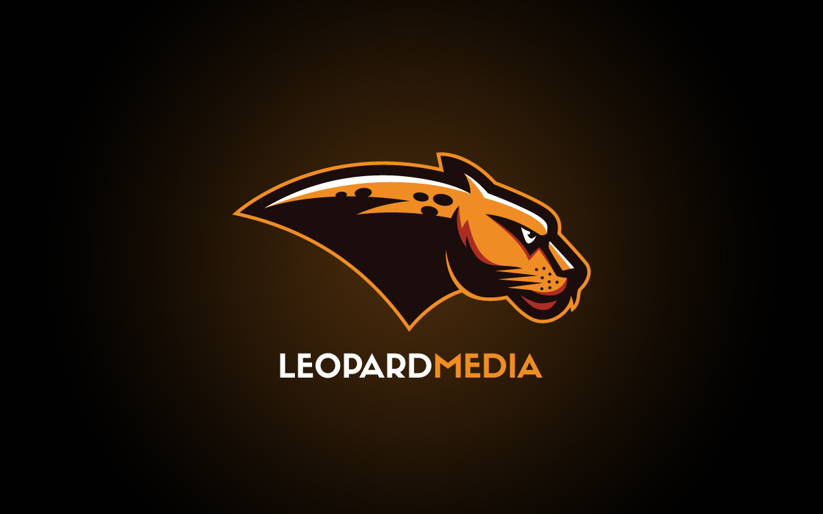 Jaw Dropping Leopard Mascot Logo For Sale Lobotz
