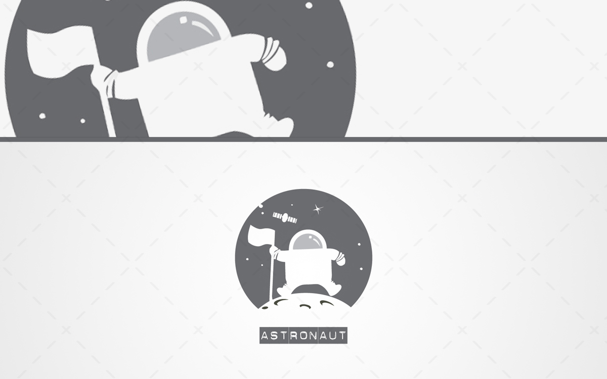 astronaut logo for sale