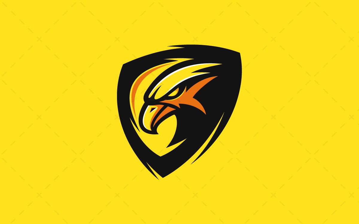 Majestic Hawk Logo Hawk Mascot Logo For Sale | eSports ...
