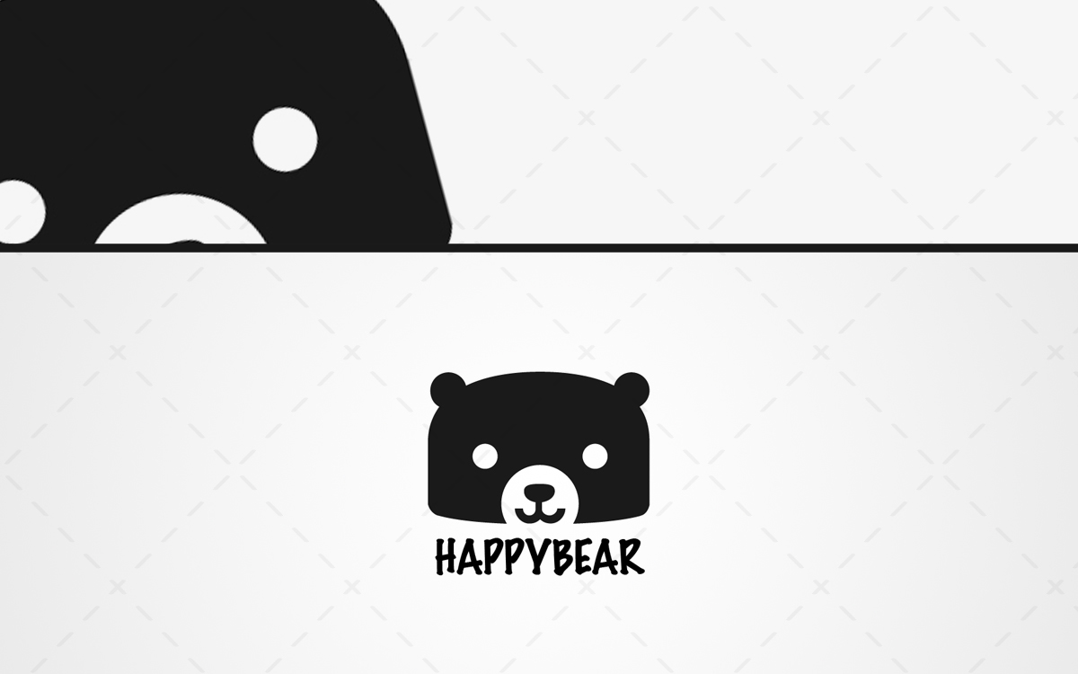 Bear Head Logo For Sale