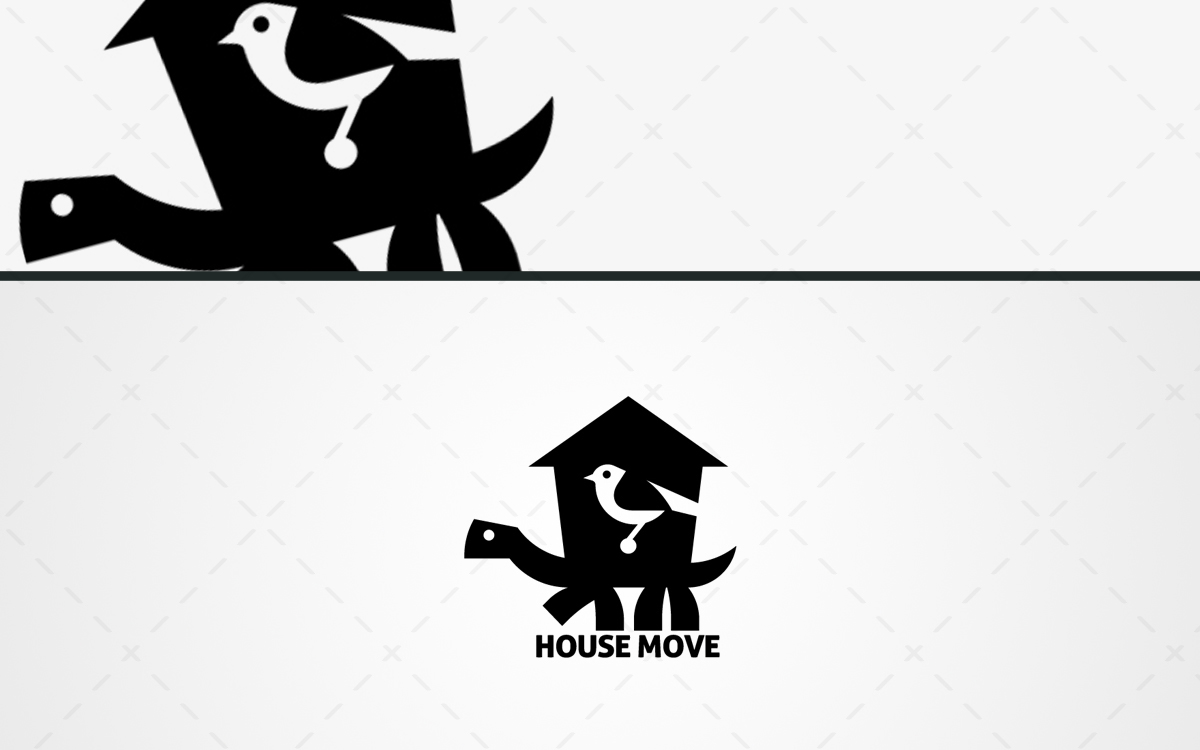 mobile house logo for sale