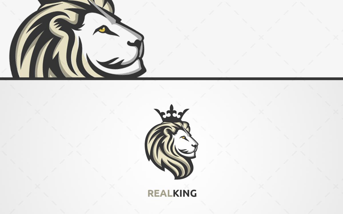Lion head logo