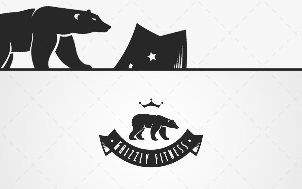Spectacular Bear Logo For Sale