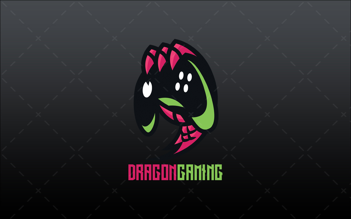 Dragon Claw Gaming Controller Logo For Sale Lobotz