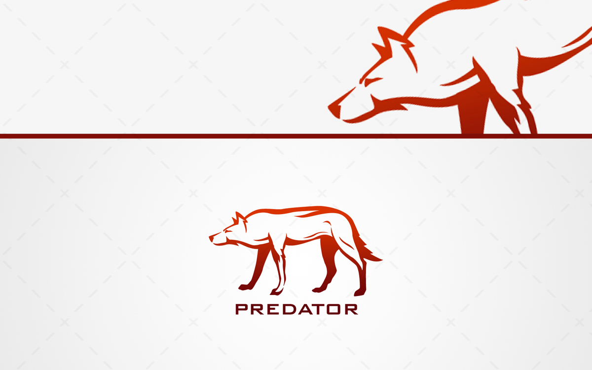 Wolf logo for sale online