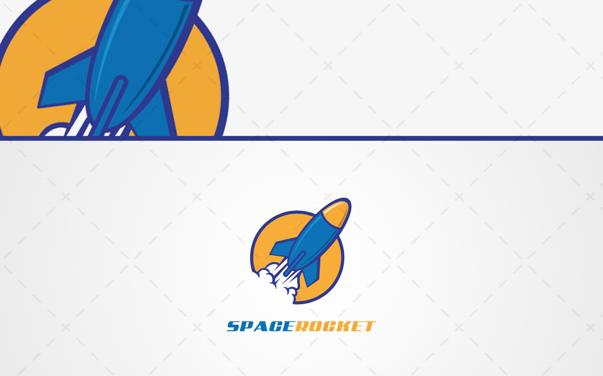 space rocket logo for sale