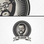 Modern & Creative Men Grooming Logo For Sale