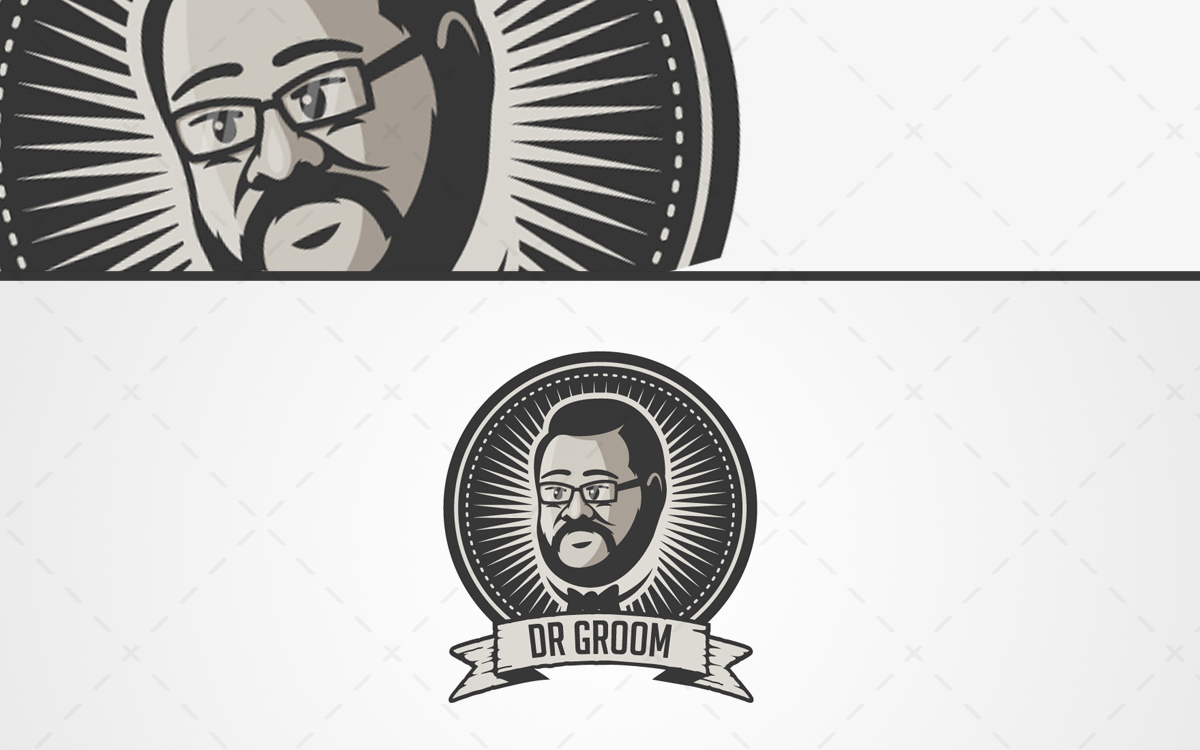 men grooming logo