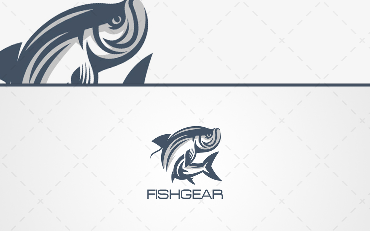 Creative Fishing Logo For Sale