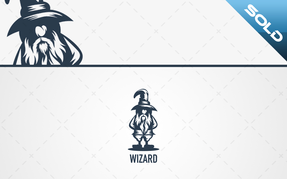 wizard logo for sale