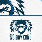 Trendy Monkey Head Logo For Sale Online
