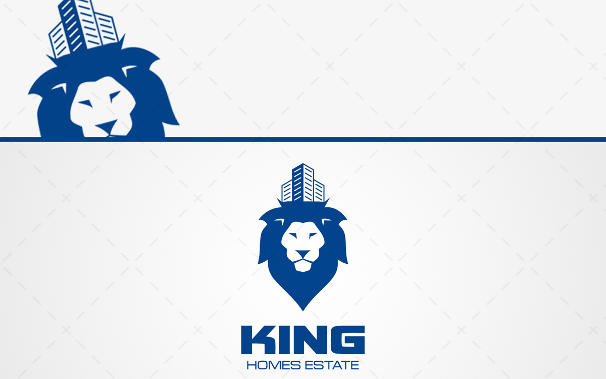 King Real Estate Logo For Sale