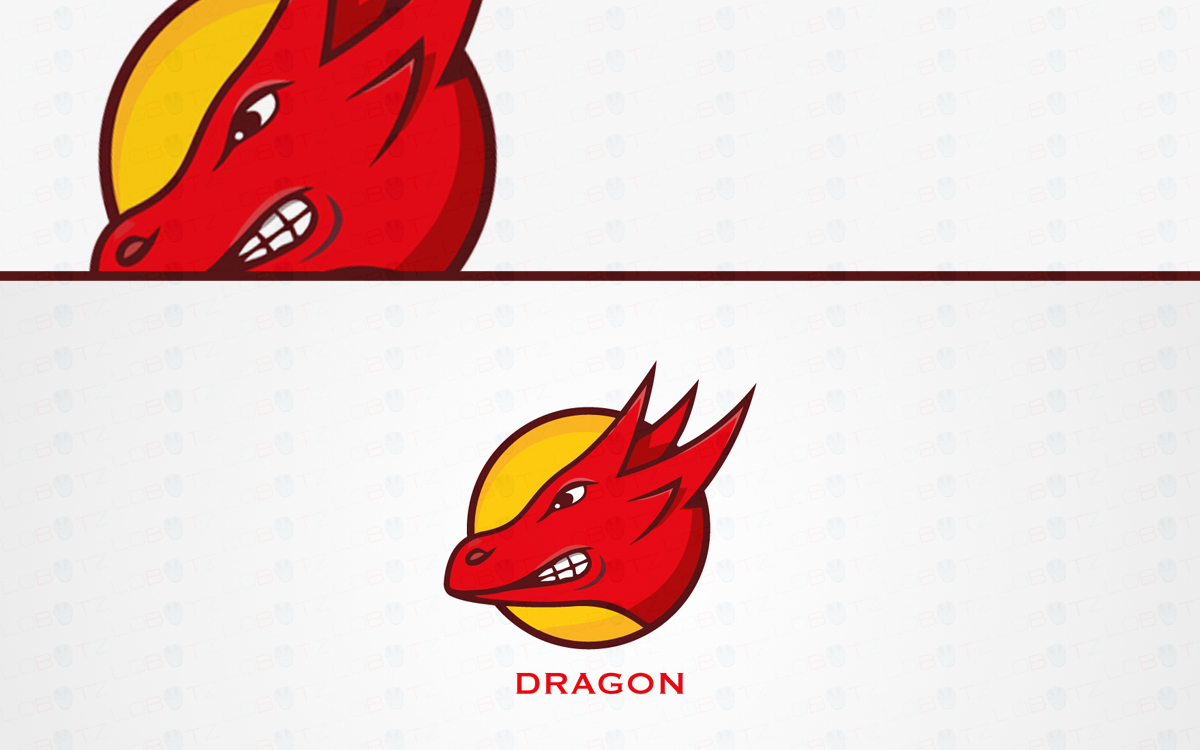 Dragon logo for sale