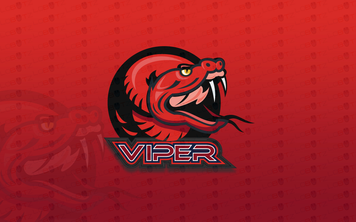 Premade Viper Mascot Logo For Sale | eSports Logo - Lobotz