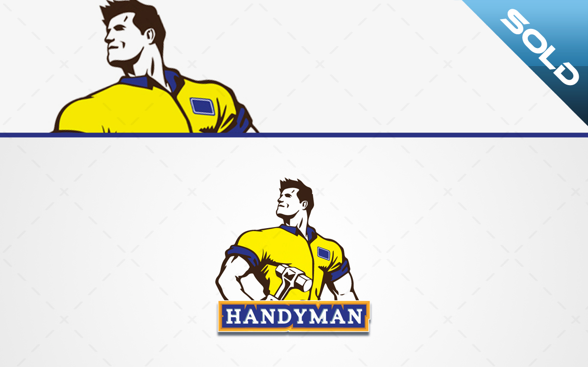 Handyman logo for sale