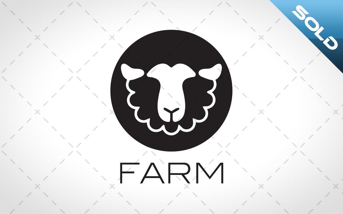 sheep head logo for sale