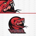 Premade Viper Mascot Logo For Sale | eSports Logo