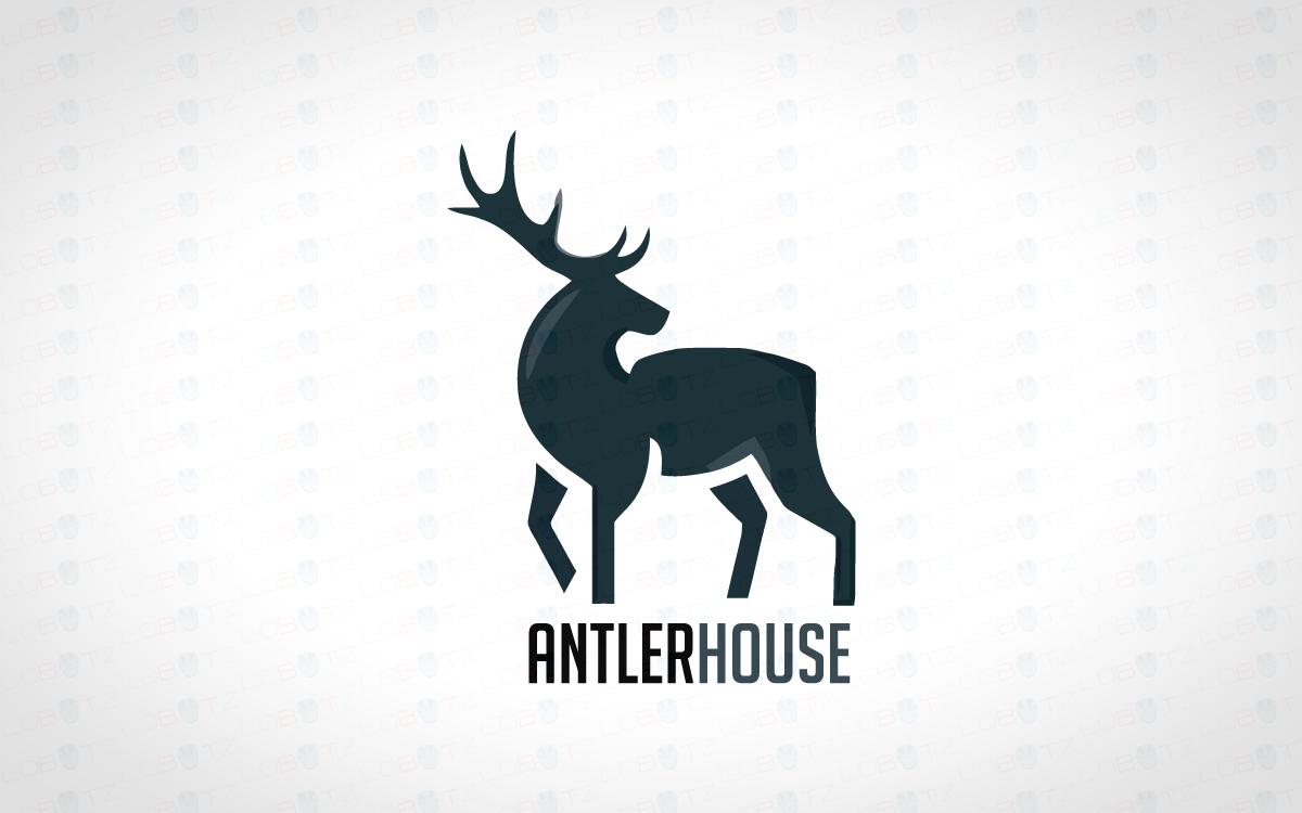 premade elegant deer logo for sale lobotz rh lobotz com deere logistics deer logistics