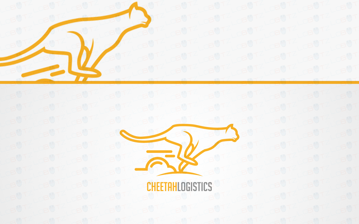 cheetah logo for sale
