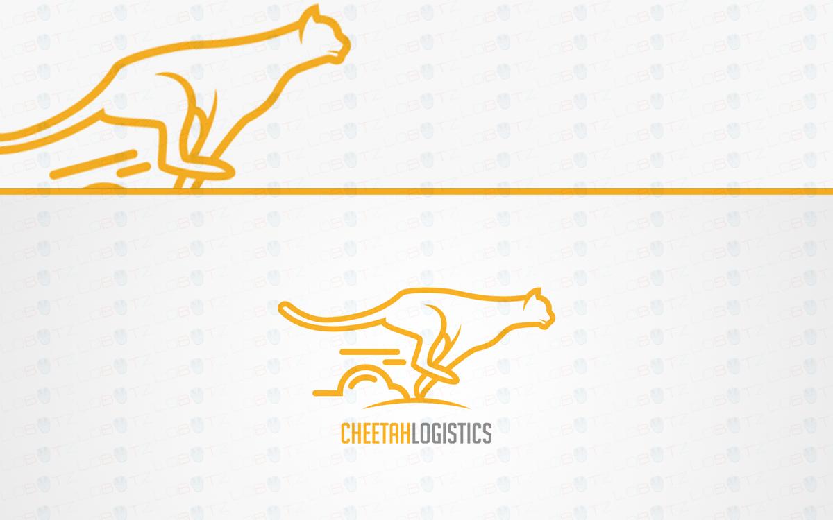 cheetah logo for sale
