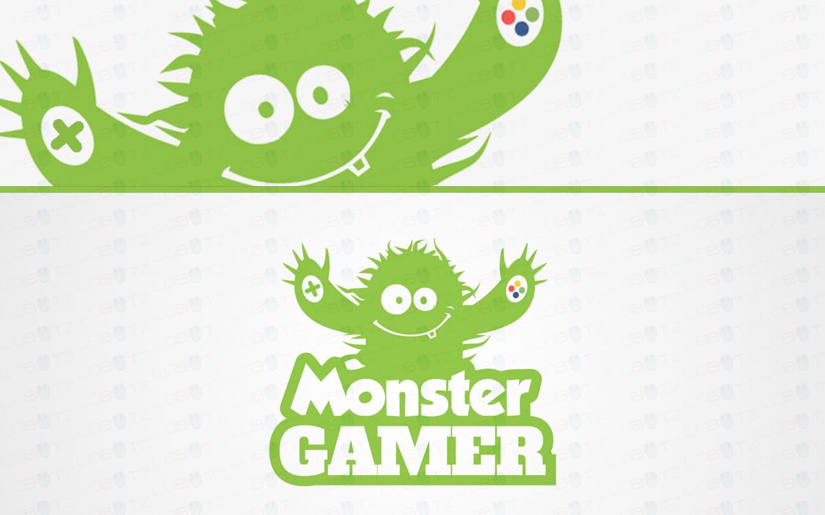 gaming monster logo