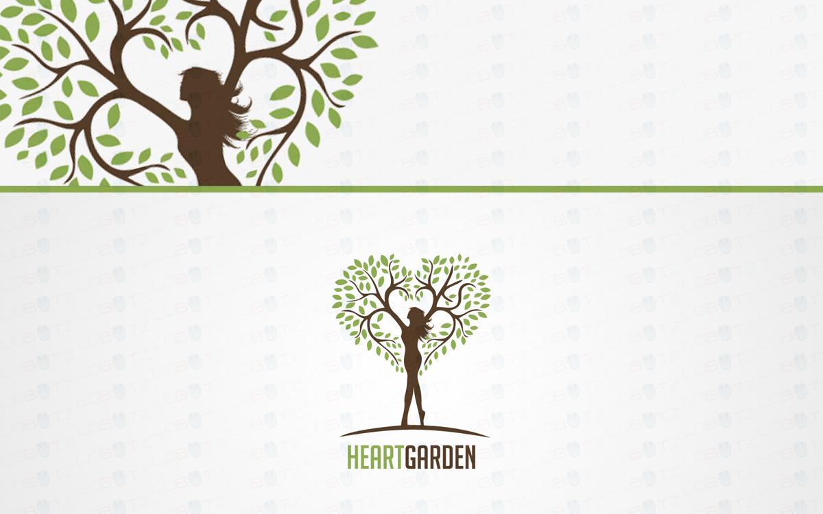 Human Tree Logo For Sale