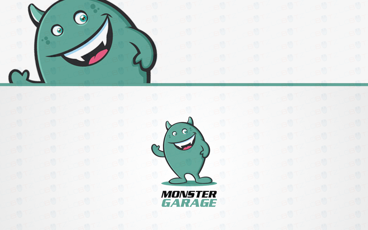 Monster logo for sale