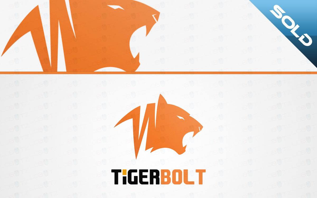 tiger bolt logo for sale