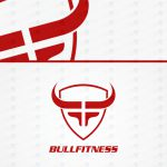 Creative Fitness Bull Logo For Sale CrossFit Logo