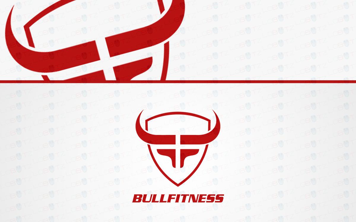 fitness bull logo for sale